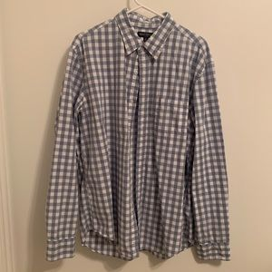 Men's J Crew Gingham Button Up
